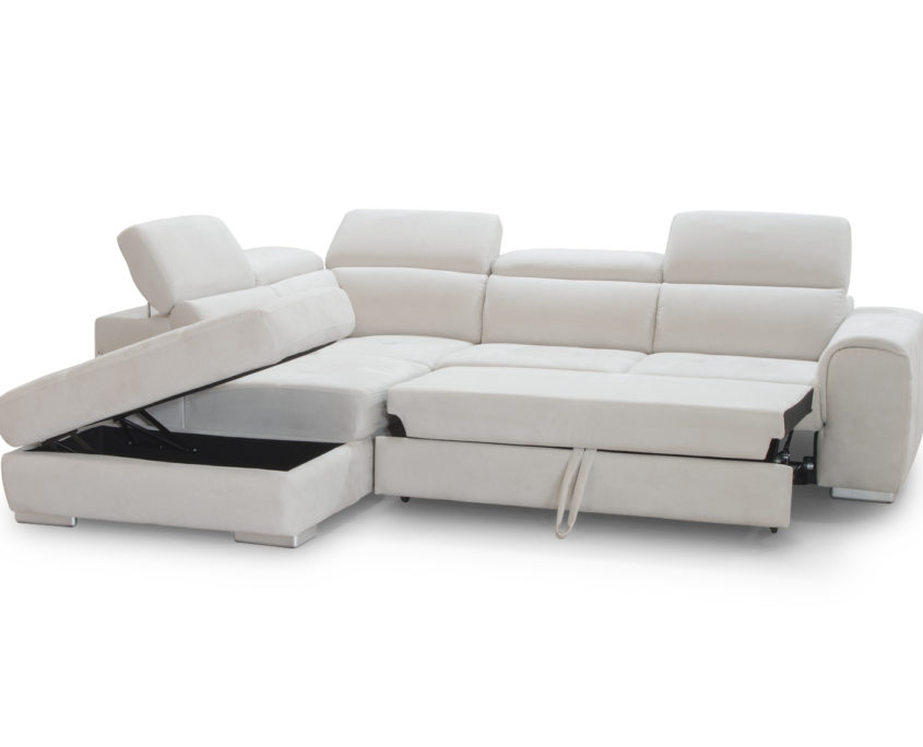 Genova divano modulare trasformabile apuliasofa for Divano trasformabile
